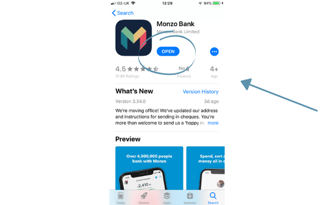 download Monzo
