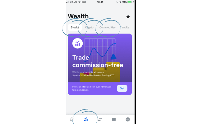 investment vehicles on revolut