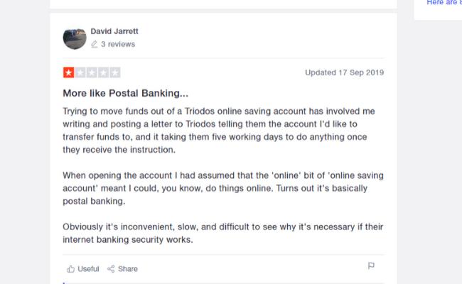 negative triodos bank review